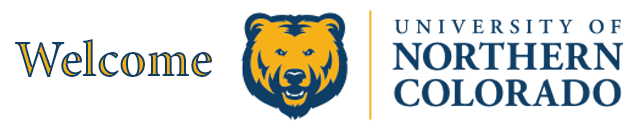 Welcome University of Northern Colorado!